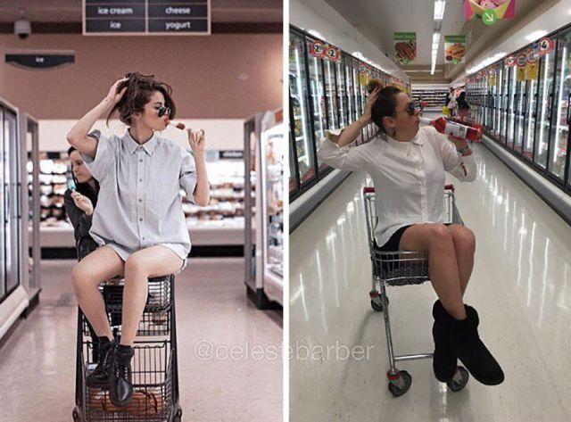 funny-celebrity-instagram-photo-recreation-celeste-barber