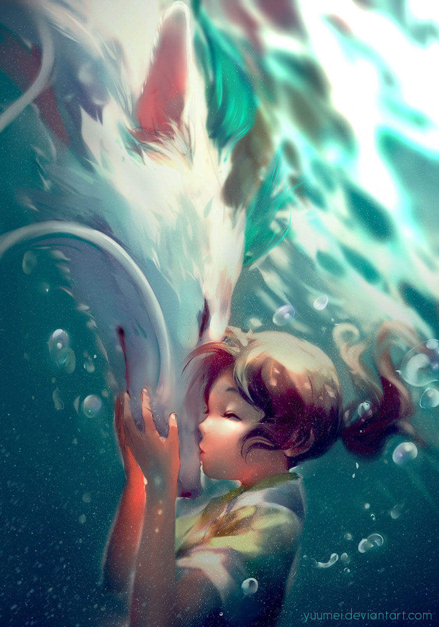 Spirited Away By Yuumei
