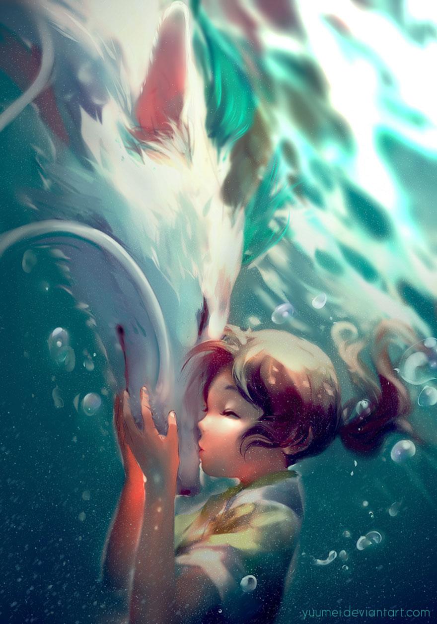 Spirited Away By Yuumei