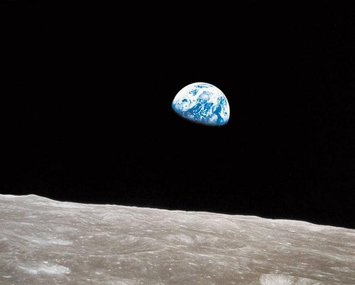 Earthrise, William Anders, de la NASA, 1968