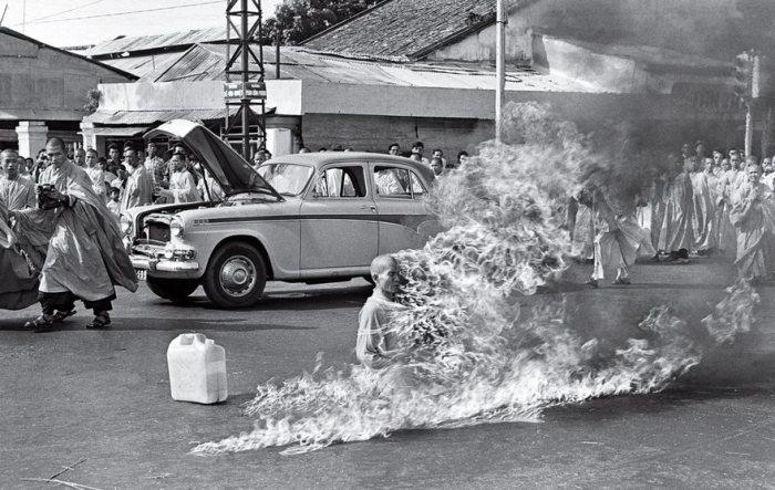 El Burning Monk, Malcolm Browne, 1963