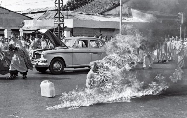 The Burning Monk, Malcolm Browne, 1963