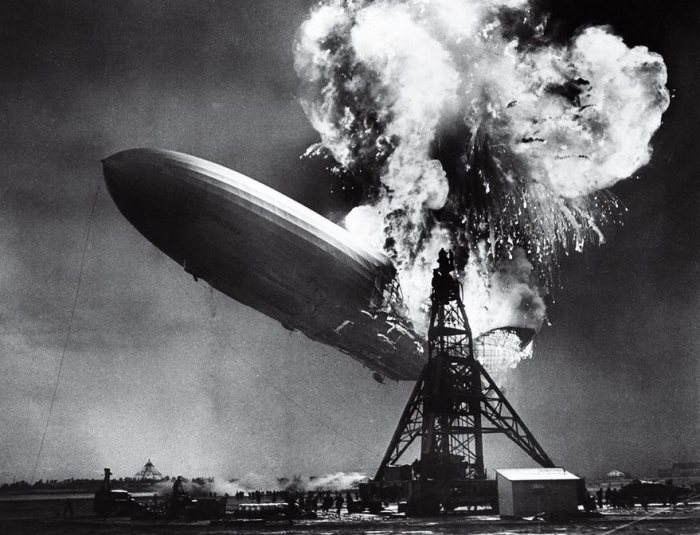 El Hindenburg Desastres, Sam Shere de 1937