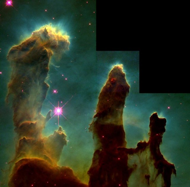Pillars of Creation, NASA, 1995