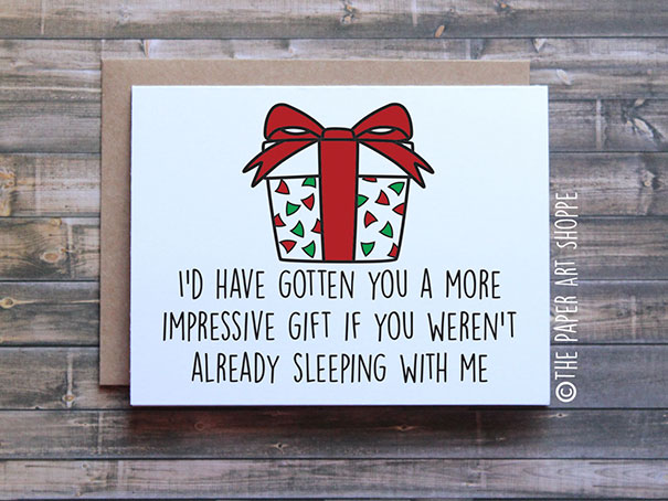 96 Hilariously Rude Christmas Cards For People With A