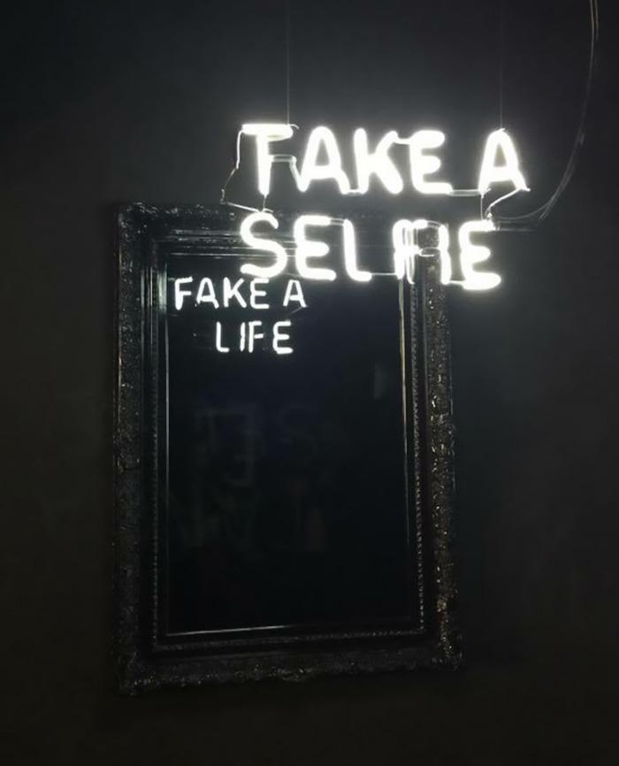 Take A Selfie/Fake A Life