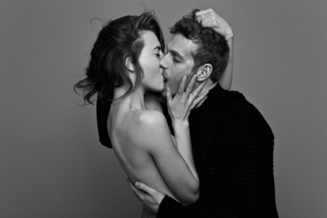 Couples Passionately Kissing