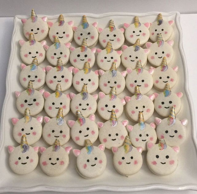 Unicorn Macarons