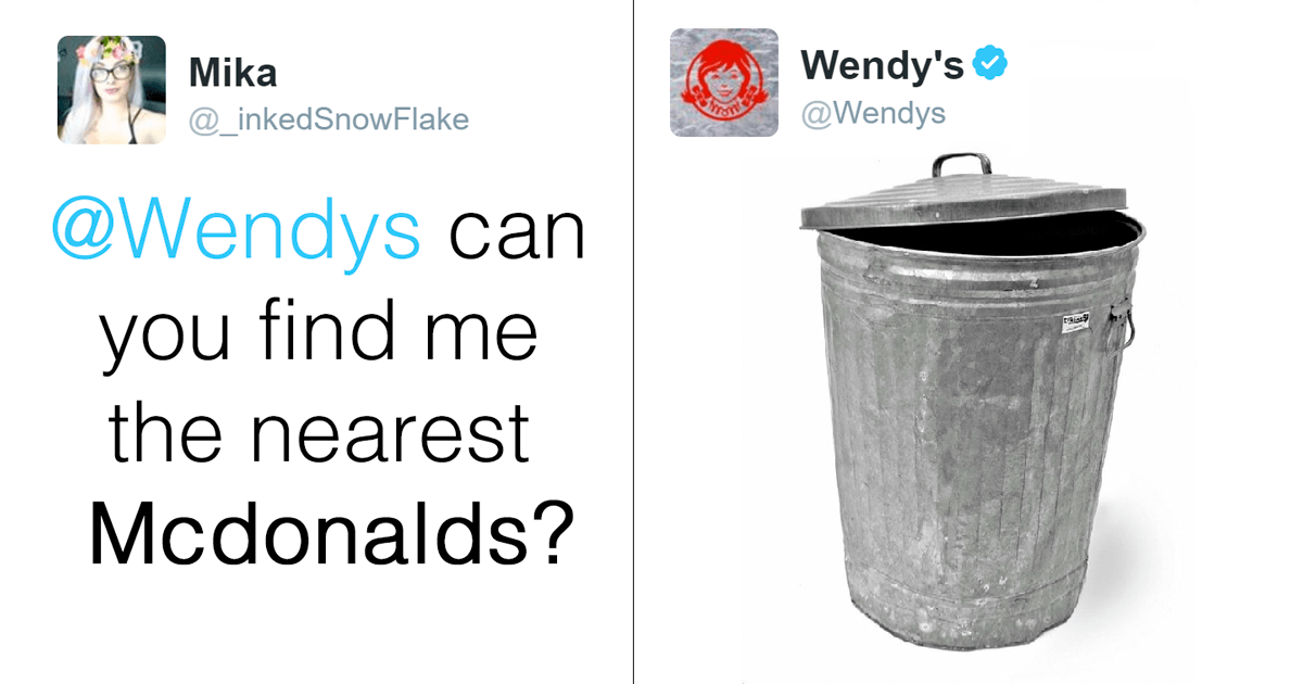 Wendy S Is Roasting People On Twitter And It S Just Too Funny