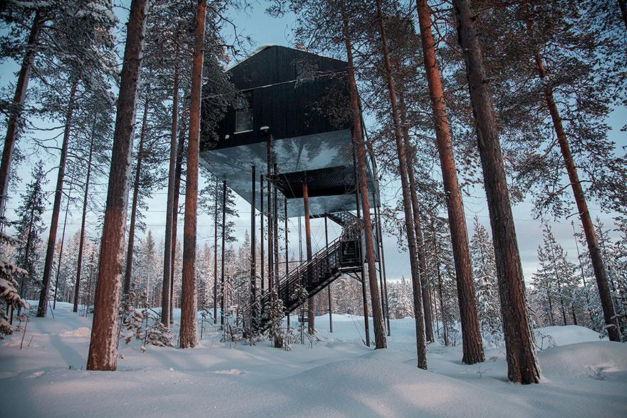Treehouse-hotel-7-camera-Snohetta-Svezia-12