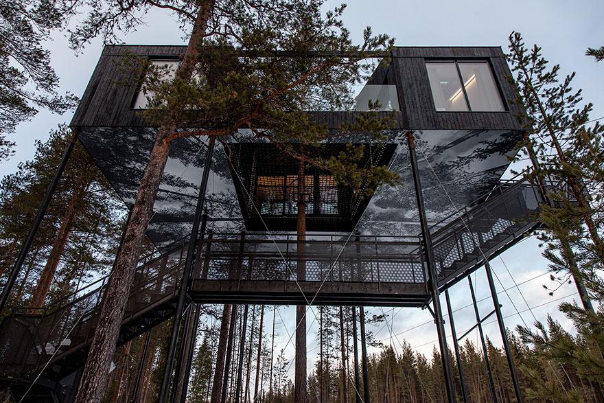 Treehouse-hotel-7-camera-Snohetta-Svezia-3