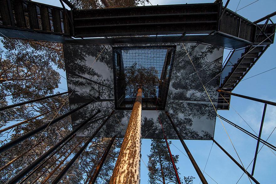 Treehouse-hotel-7-camera-Snohetta-Svezia-4