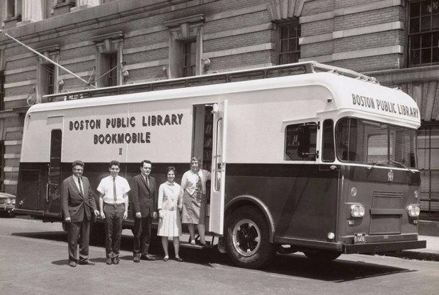 A Boston Public Library Bookmobile, 1963