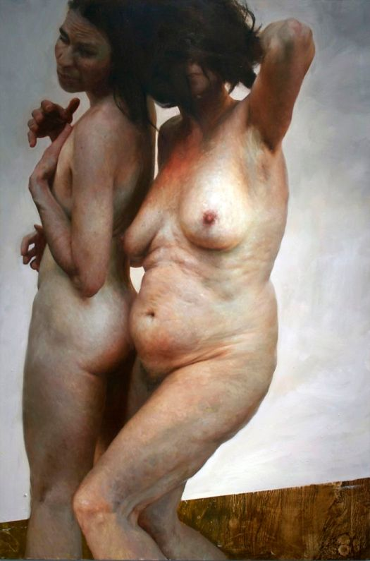Imperfect Nude Portrait Paintings
