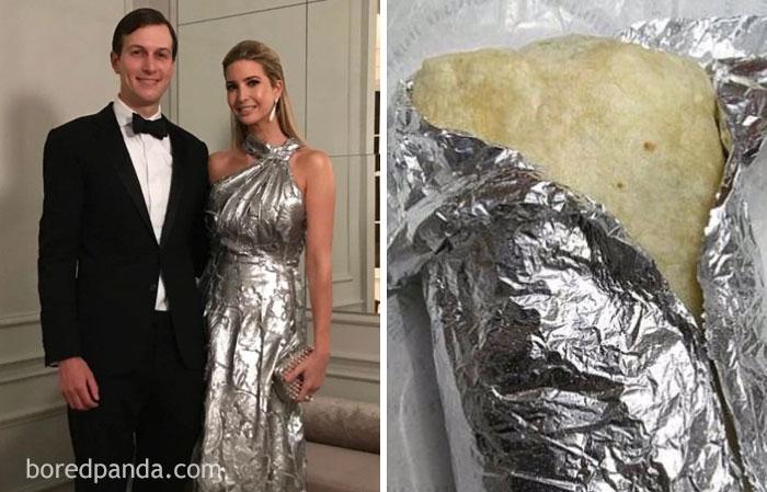 Ivanka Trump Or This Burrito?