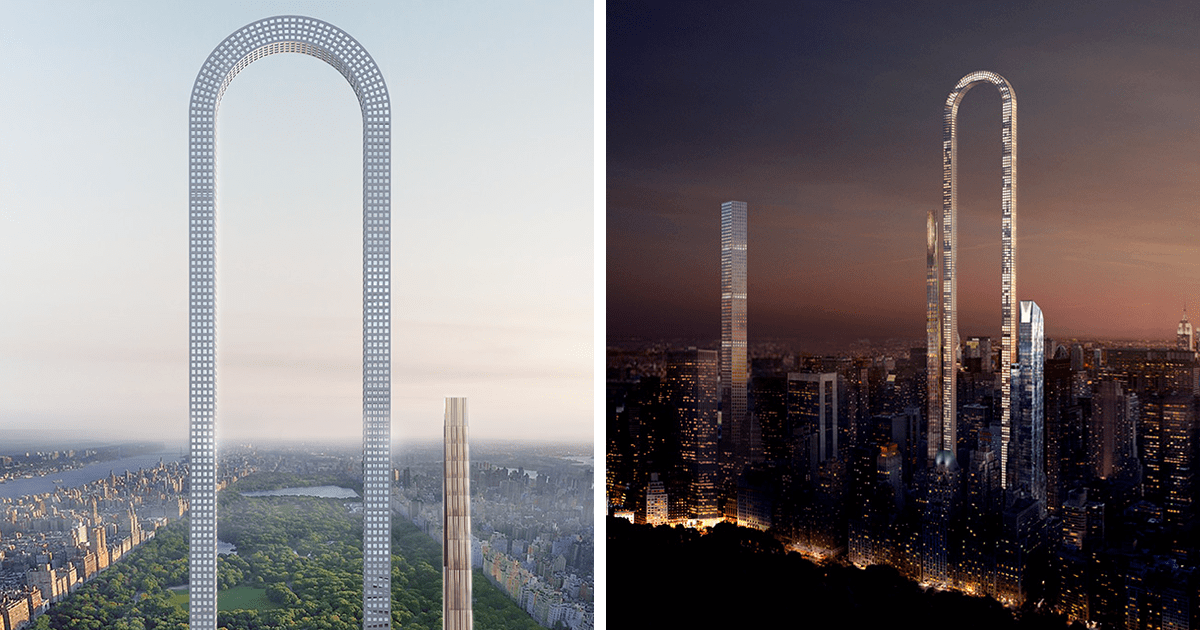 Incredible U-Shaped Skyscraper In New York Is Unveiled And