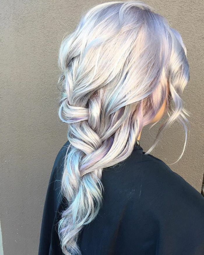 Holographic Hair Is Here And Its The Hottest Hair Trend