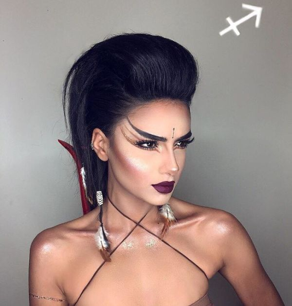 makeup artist zodiac signs setareh hosseini 7 58f7153a18692  700 - 12 Makeup Looks For Each Zodiac Sign  Which One Is The Best?