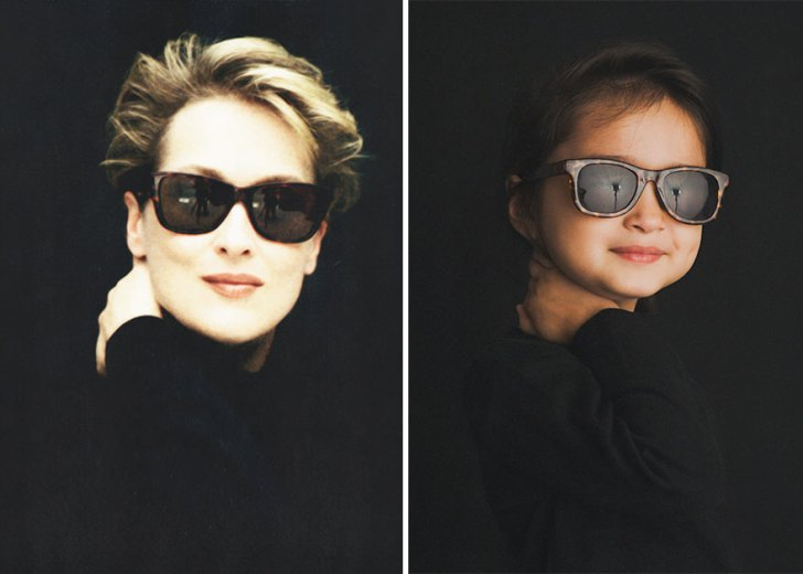 Meryl Streep And Scout