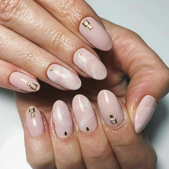 Quartz Nail Art