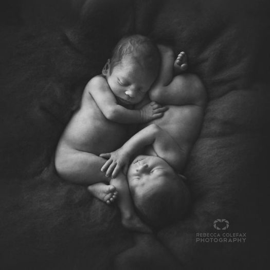 Photographer Takes Pictures Of Babies As Never Seen Before