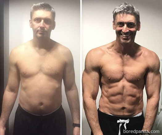 3 month Transformation Of A Father-Of-Three, 45 Years Old