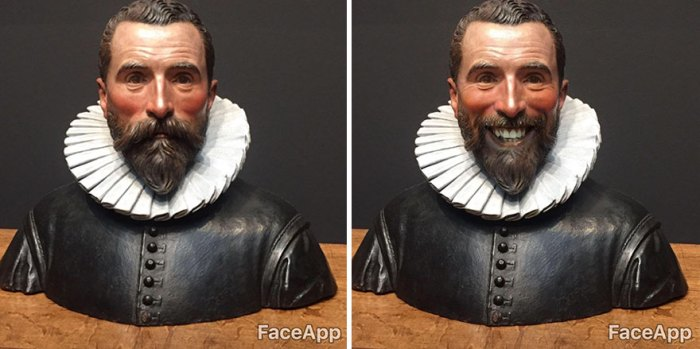 Faceapp Smiles