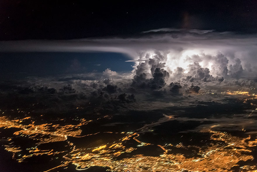 An Ominous Storm Over Panama City
