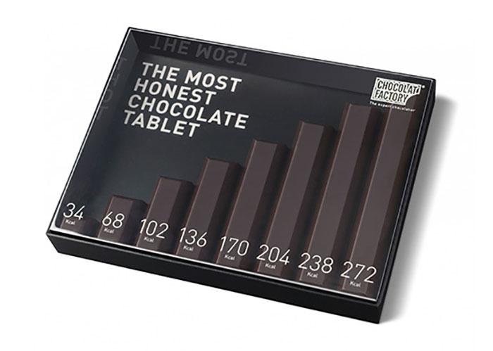 A mais Honest Chocolate Tablet