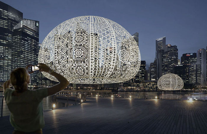 crocheted-urchins-sculpture-choi-shine-architects-singapore-marina-bay-15