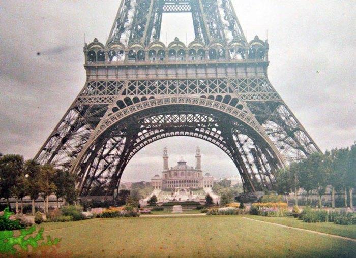 A Torre Eiffel, Paris, 1914