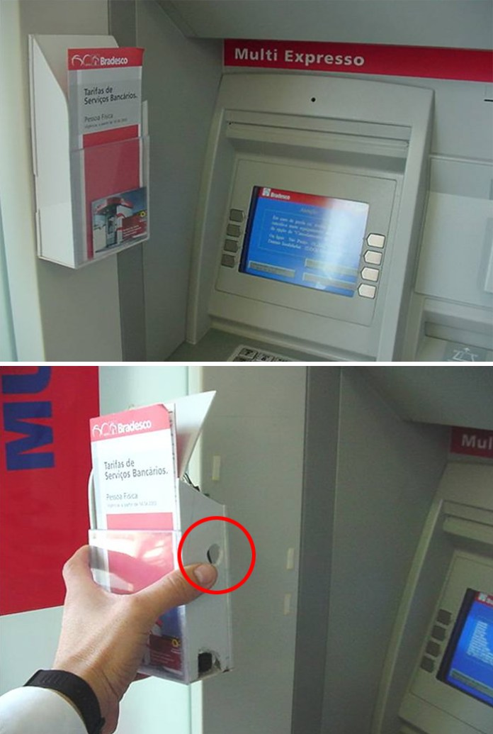 Fraudes y estafas en cajeros electrónicos