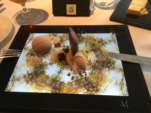 Ever Eaten Three Variants Of Foie Gras From An iPad?