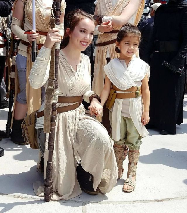 Rey And Rey, Star Wars