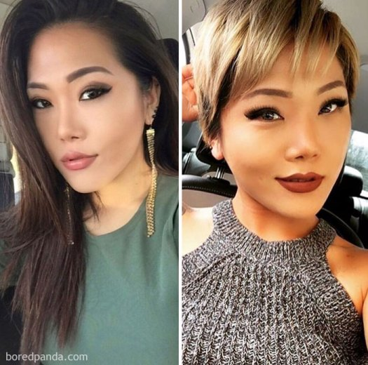 This Girl Dramatically Changed Her Style By Cutting It All Off And Going Blonde