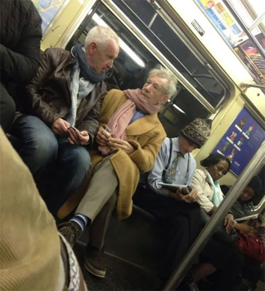 So I Think I Sat In The Train With Gandalf/Magneto