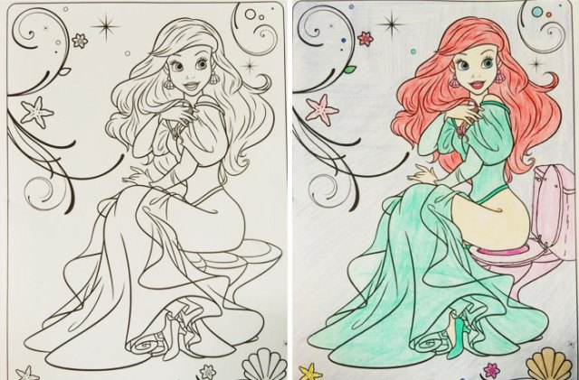 When Adults Did Coloring Books For Kids