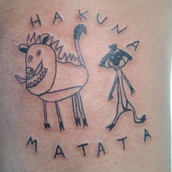 la peor tatuadora de Brasil