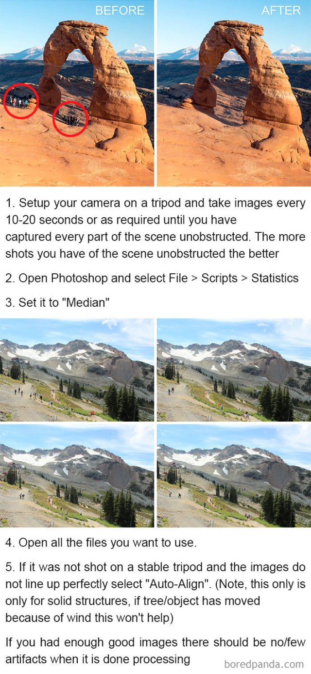 Remove Tourists From Your Pictures Using These Simple Steps