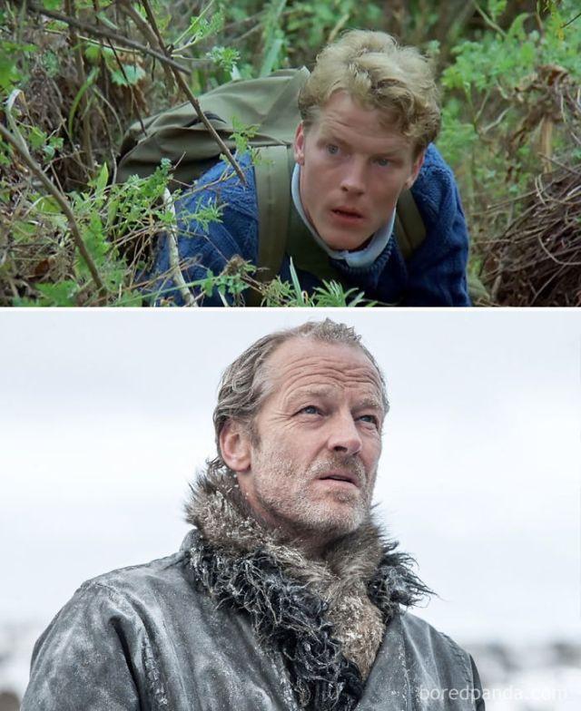 Iain Glenn As Brendan (in 1988's Gorillas In The Mist) And As Ser Jorah Mormont (in Got)