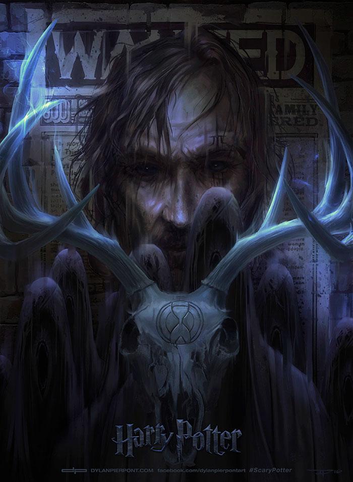 harry-potter-redrawn-dark-covers-dylan-pierpont-3