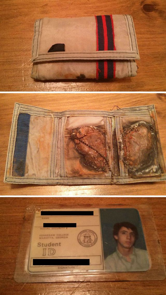 A Good Samaritan Found The Wallet I Lost In The Ocean. veinticuatro Years Ago