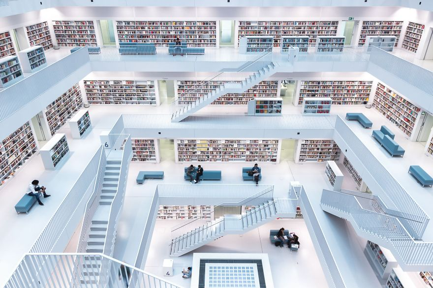 First Place Winner, Cities: Levels Of Reading, Stuttgart, Germany