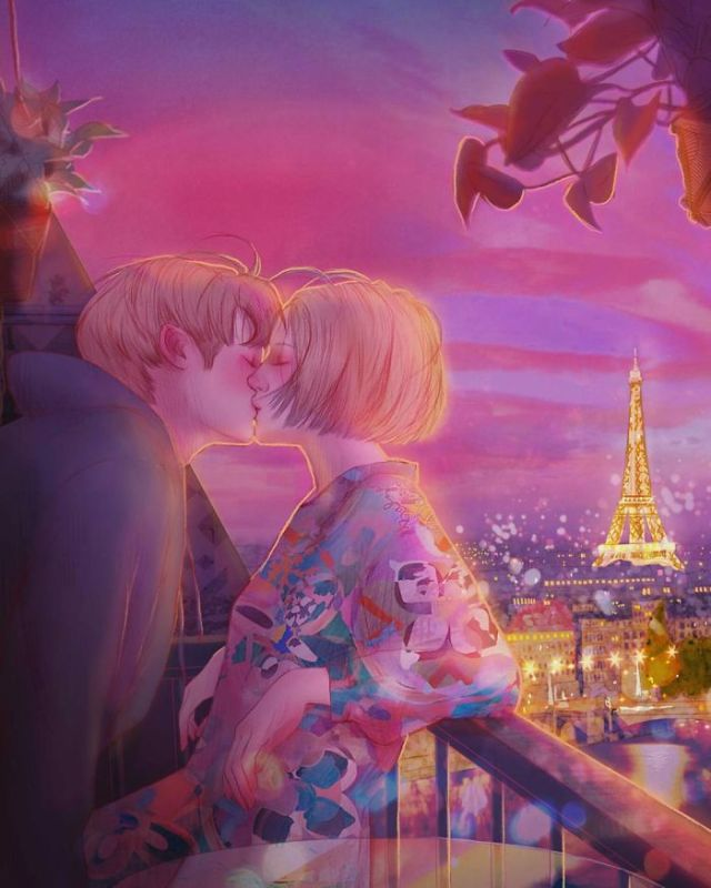 Kissing In The City Of Love