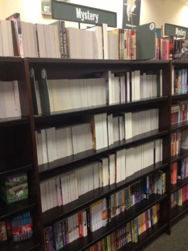 Estos libros de misterio son un misterio, desde luego