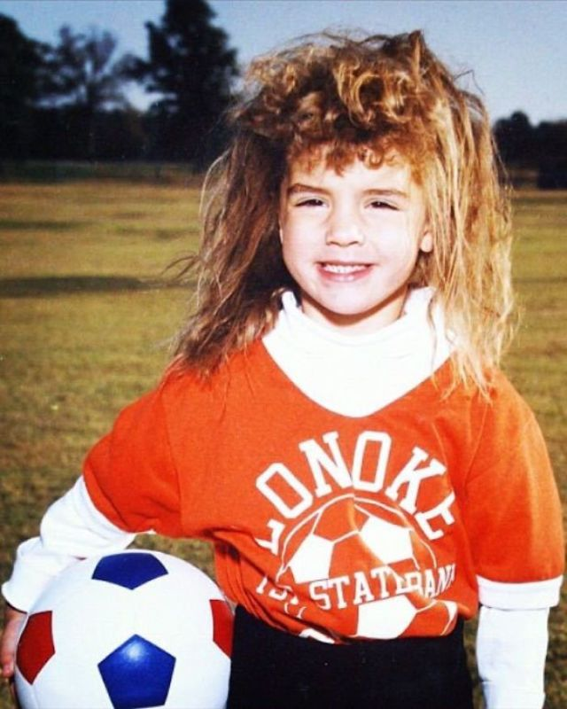 Permission Has Finally Been Granted To Share My Wife's Glorious Childhood Perm/Greatest Soccer Picture Of All Time