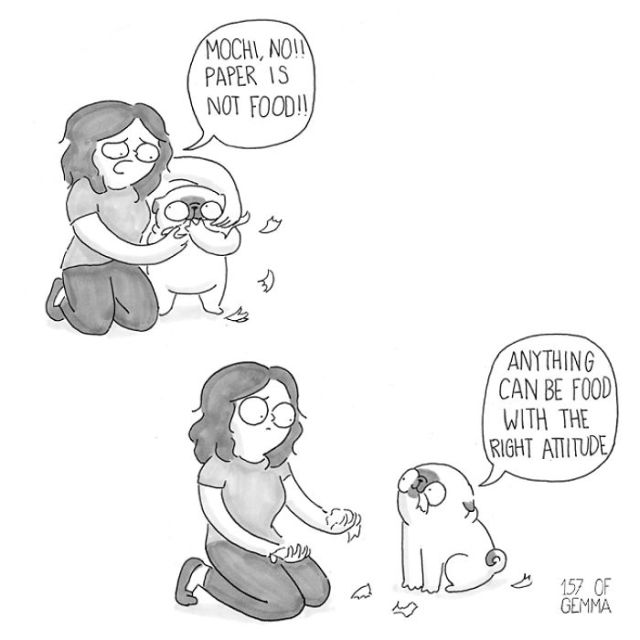 10+ Adorable Comics That Hilariously Sum Up What It's Like Living With A Dog