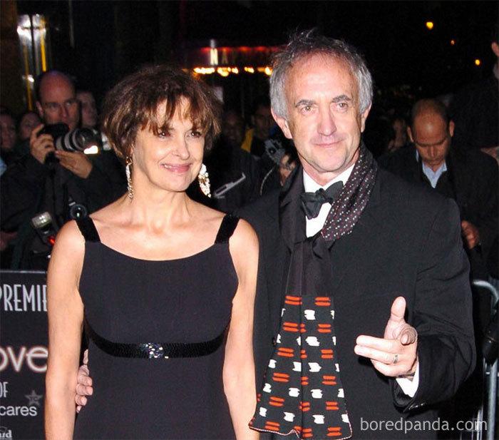 Jonathan Pryce (High Sprrow) And His Wife Kate Fahy