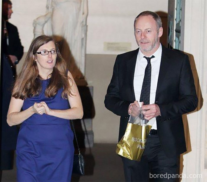 Liam Cunningham (Davos Seaworth) With His Wife Colette Cunningham