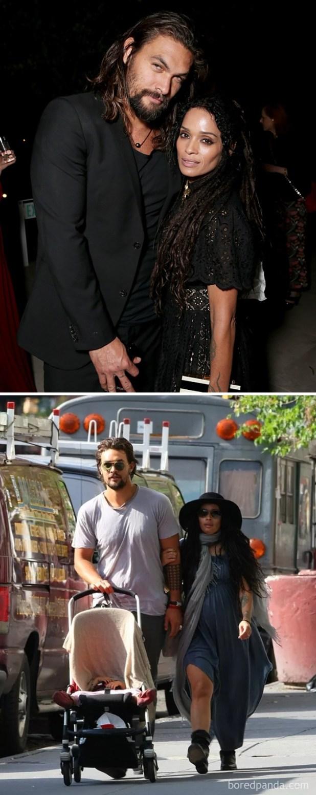 Jason Momoa (Khal Drogo) And His Wife Actress Lisa Bonet